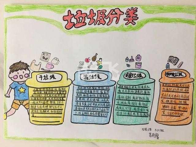 围观!北京顺义学生笔下的创意手抄报