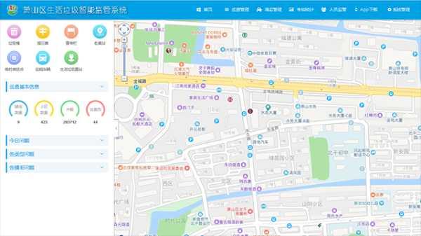 城市生活垃圾智能监管系统项目开发